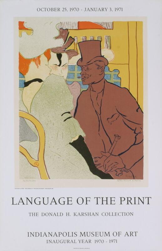 Henri de Toulouse-Lautrec, 'The Englishman', 1971, Print, Stone Lithograph, ArtWise