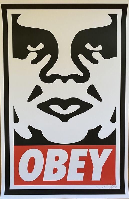 Shepard Fairey, 'Obey Giant', Print, Screenprint, The Art of ElysiumBenefit Auction