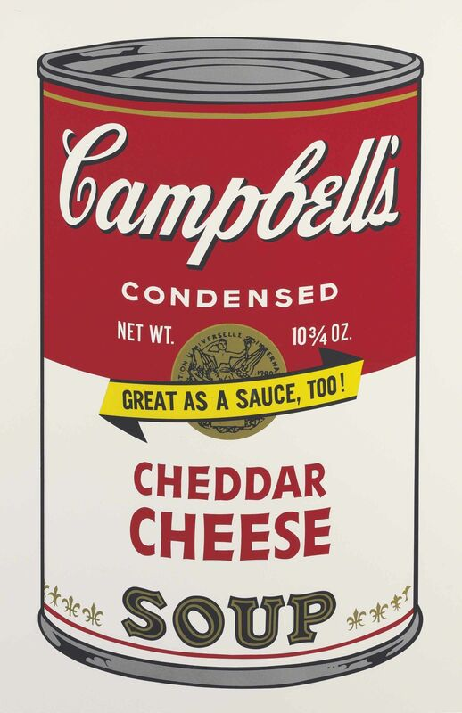 Andy Warhol, 'Cheddar Cheese, from Campbell's Soup II', 1969, Print, Screenprint in colors, on smooth wove paper, Christie's