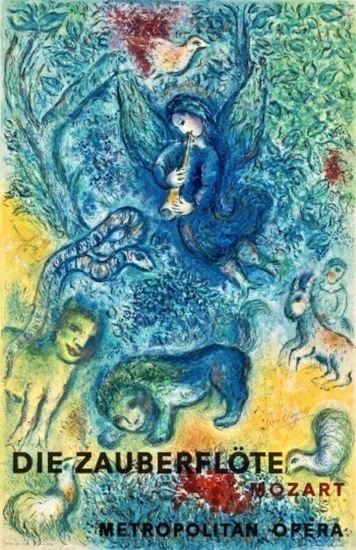 Marc Chagall, 'Die Zauberflöte (The Magic Flute)', 1967, Print, Lithograph, Artsy x Capsule Auctions
