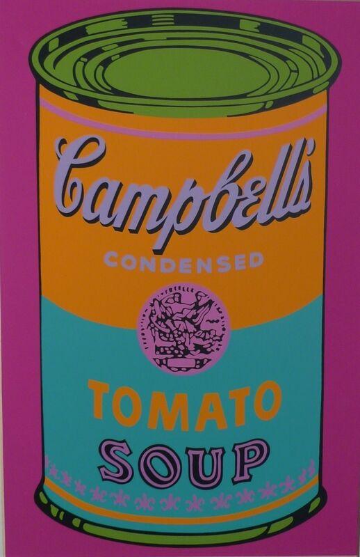 Andy Warhol, 'Campbells Tomato Soup', 1968, Ephemera or Merchandise, Screenprint on paper, Bengtsson Fine Art