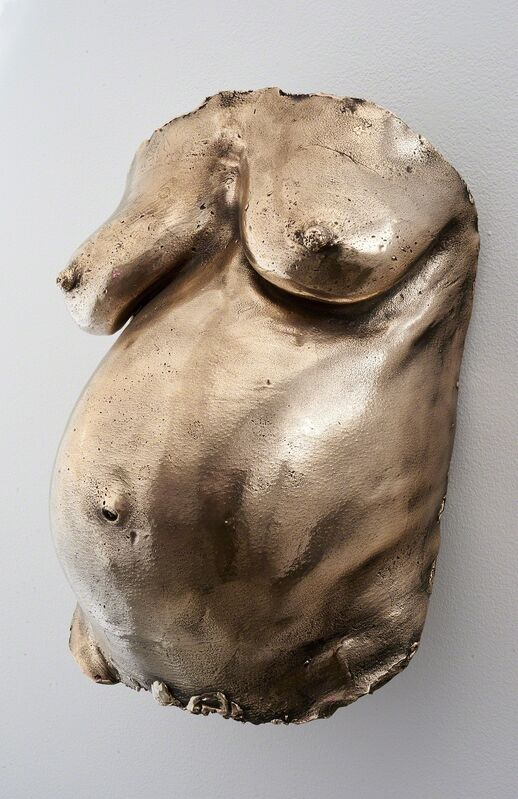 Davina Semo, 'FIRST ONE HAND, THEN BOTH, WENT OVER ME VERY GENTLY', 2018, Sculpture, Polished cast bronze, stainless steel hardware, Jessica Silverman