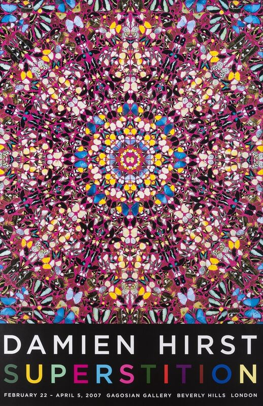 Damien Hirst, 'Superstition', 2007, Print, Offset lithograph printed in colours, Forum Auctions
