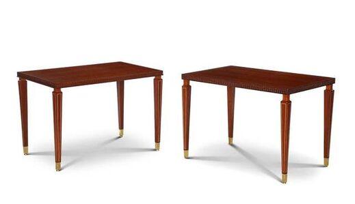 Paolo Buffa, 'Elegant Pair of Side Tables', ca. 1950