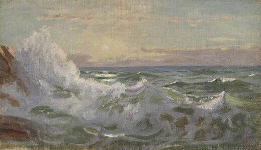 William Trost Richards, 'Crashing Waves', Late 19th century