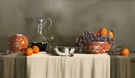 Tony de Wolf, 'Still Life in Orange'
