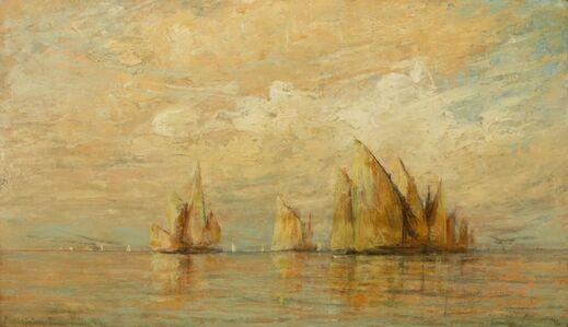 William Gedney Bunce, 'Venetian Boats', 1882
