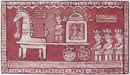 Jamini Roy, 'Untitled (Bridegroom's Procession)'