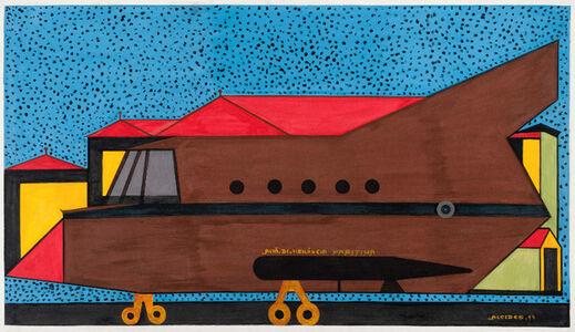 Alcides Pereira Dos Santos, 'Marine Surveillance Plane', 1997