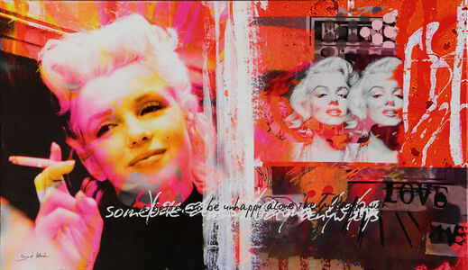 "Dganit Blechner, '""Marilyn Monroe"" Screenprint on Canvas by Dganit Blechner', ca. 2005"