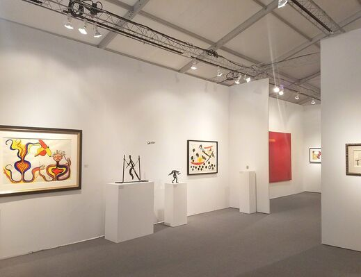 Hollis Taggart Galleries at Art Miami 2016, installation view