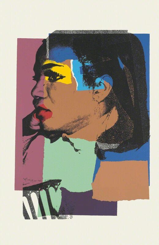 Andy Warhol, 'Ladies and Gentlemen II.129', 1975, Print, Screenprint, Hamilton-Selway Fine Art