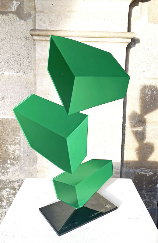 Rafael Barrios, 'Tumble ', 2018, Sculpture, Hand made lacquer steel, Mark Hachem Gallery