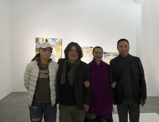YANG SHU, installation view