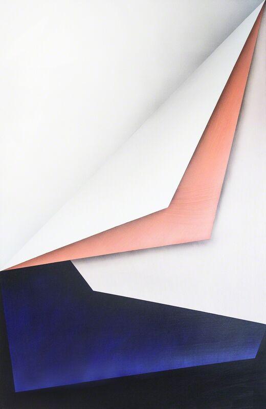 Ira Svobodová, 'Papercut 26', 2015, Painting, Acrylic on linen, River