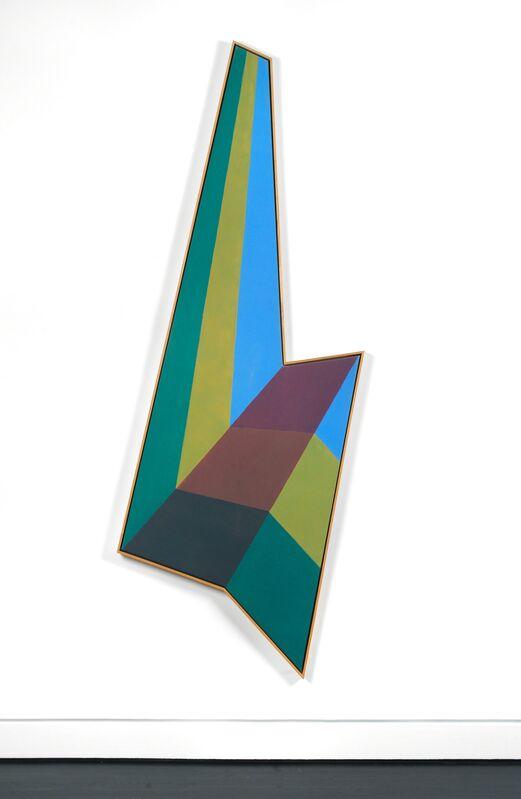 Paul Allen Reed, 'Hackensacke', 1967, Painting, Acrylic on canvas (shaped), Hemphill Artworks
