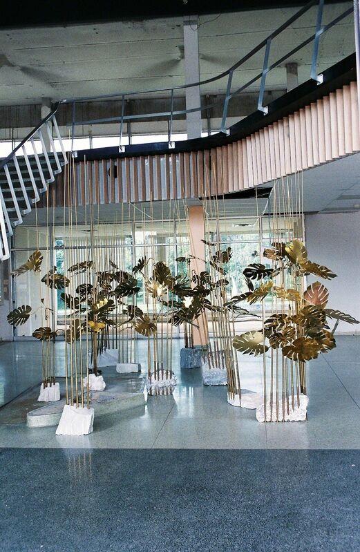Elaine Cameron-Weir, 'Installation view: Medusa', 2014, Sculpture, Brass, stone, Rodolphe Janssen