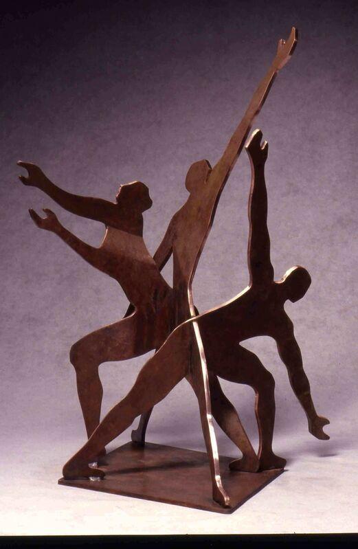 Pattie Porter Firestone, 'Reaching Out', 2001, Sculpture, Bronze-Fabricated, Zenith Gallery
