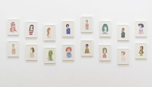 Laylah Ali, 'Sixteen Drawings', 2017