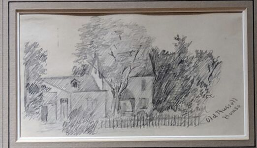 Charles Marion Russell, 'Old Russell House', ca. 1910