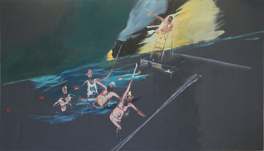 Aaron van Erp, 'The murder of Pompey in the harbour of Alexandria by supporters of the deposed president Morsi', 2013