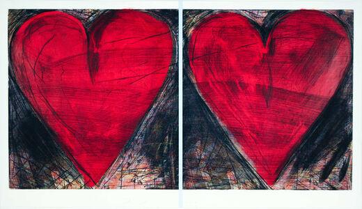 Jim Dine, 'The Pale Blue Line', 2014