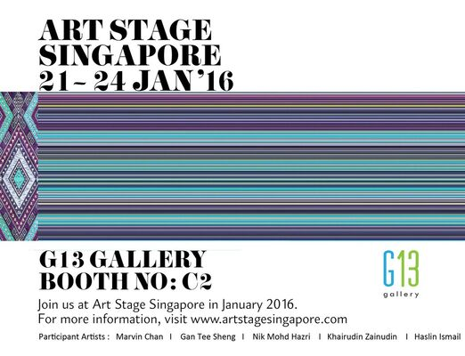 G13 Gallery at Art Stage Singapore 2016, installation view