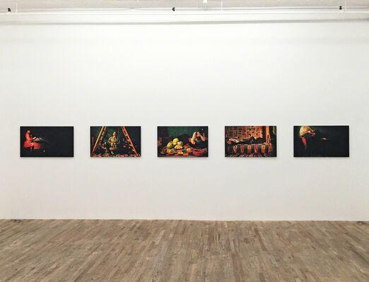 NIDAA BADWAN - 100 Days of Solitude, installation view
