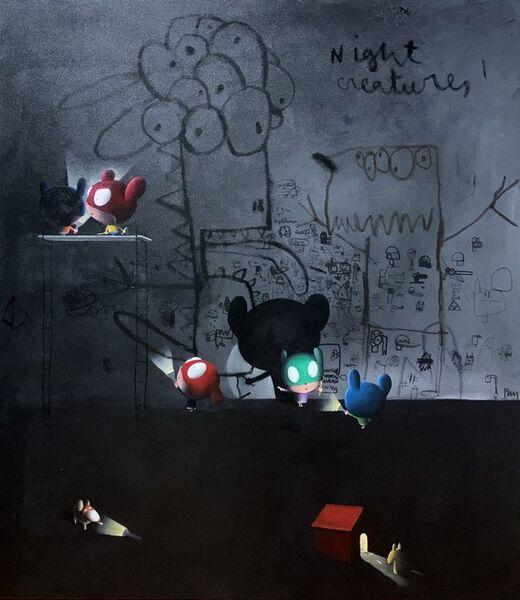 Edgar Plans, 'Night creatures', 2020