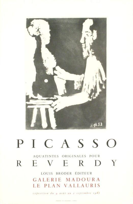 Pablo Picasso, 'Reverdy', 1967, Print, Stone Lithograph, ArtWise