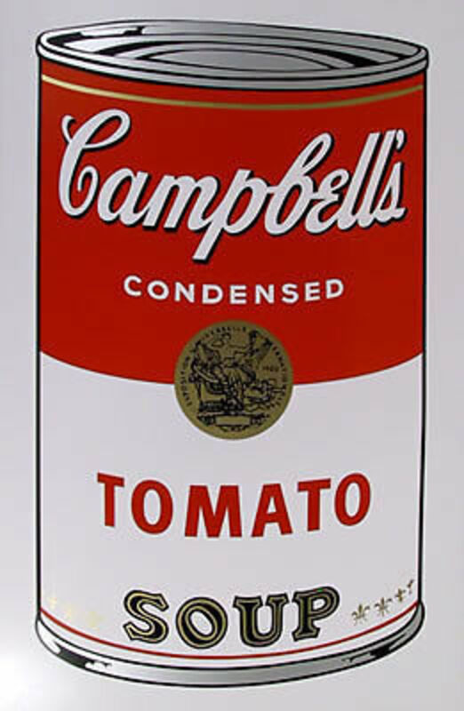 Andy Warhol, 'Campbell's Tomato Soup Can 11.46', 1961-1962, Print, Serigraph, Leviton Fine Art