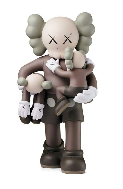 KAWS, 'KAWS Clean Slate Brown (KAWS brown companion)', 2018, Sculpture, Painted Vinyl Cast Resin, Lot 180