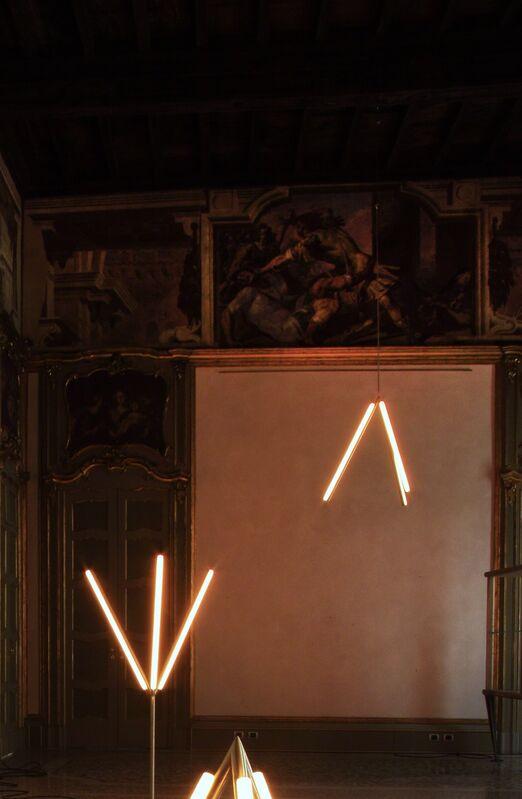 Michael Anastassiades, 'Lit Lines, Pendant Light 1', 2011, Design/Decorative Art, Satin or patinated brass, Nilufar Gallery