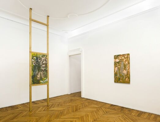 Fumes, installation view