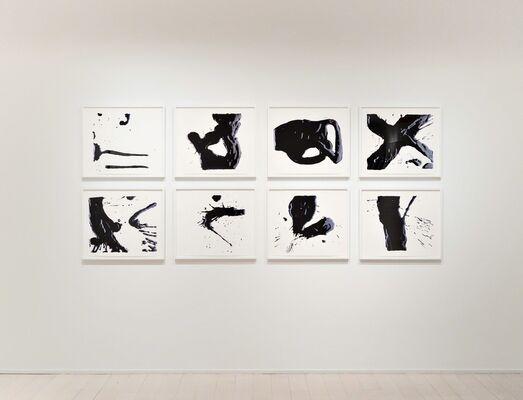 Black/White: Including editions and monoprints by Tara Donovan, Leonardo Drew, Paul Morrison and Vik Muniz, installation view