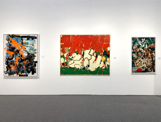 Hollis Taggart at Art Miami 2019, installation view