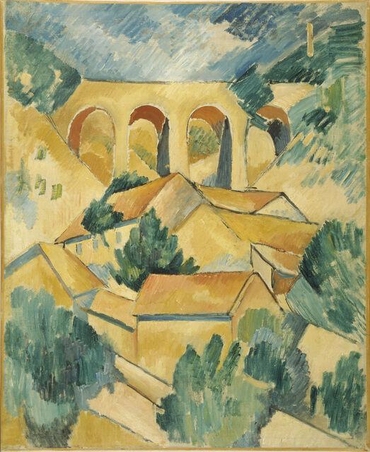 Georges Braque | Viaduct at L'Estaque (1908) | Artsy