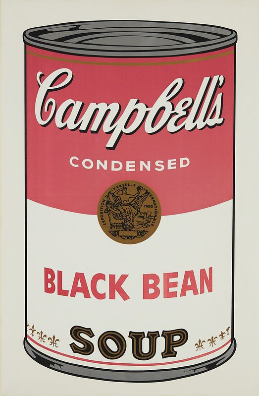 Andy Warhol, 'Black Bean, from Campbell's Soup I', 1968, Print, Screenprint in colors, on wove paper, with full margins., Phillips