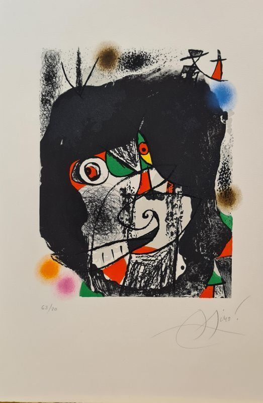 Joan Miró, 'Les révolutions scéniques du XXe siècle ', 1975, Print, Lithograph on paper, Le Coin des Arts