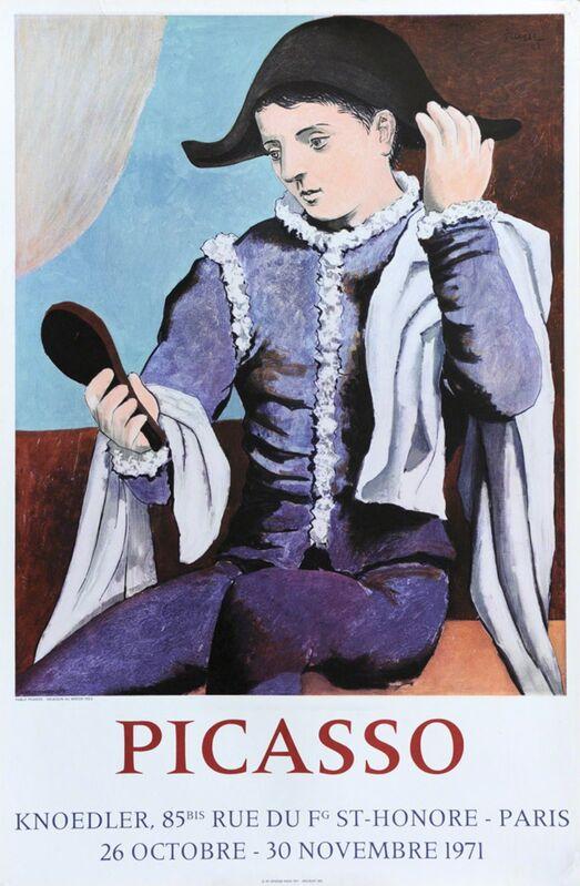 Pablo Picasso, 'Poster for Galerie Knoedler', 1971, Ephemera or Merchandise, Lithographic poster, Hans den Hollander Prints