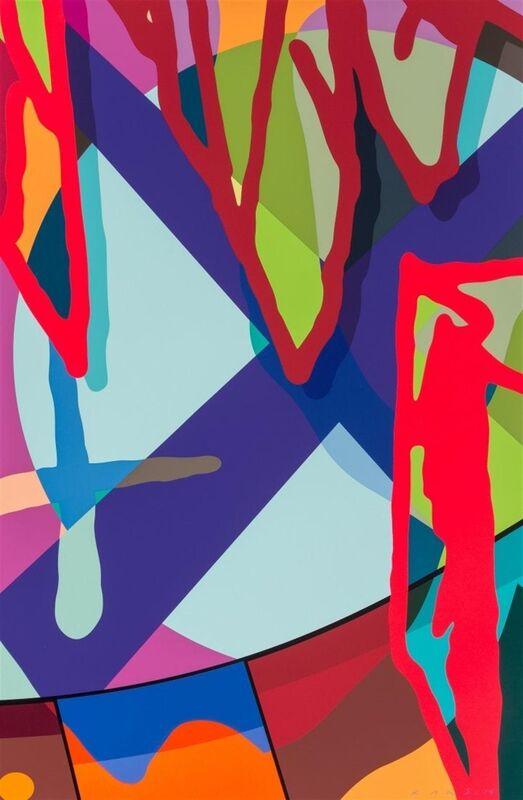 KAWS, 'Tension #3', 2019, Print, Screen print on paper, Hang-Up Gallery