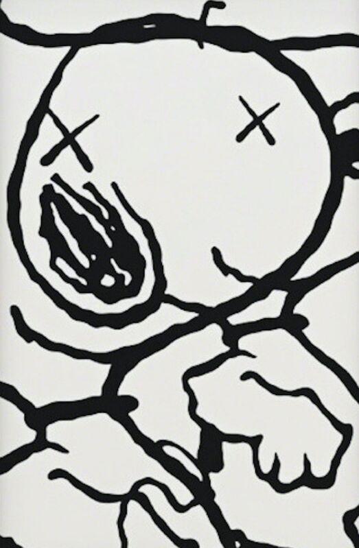 KAWS, 'Man's Best Friend', 2015, Print, Silkscreen on paper, Gin Huang Gallery