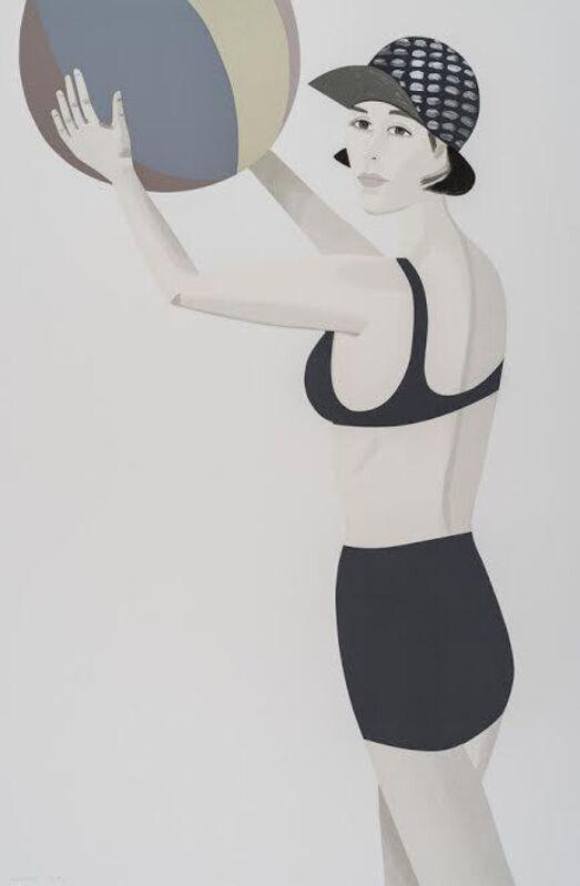 Alex Katz, 'Vivien from Chance', 2016, Print, 30 color silkscreen, Vertu Fine Art