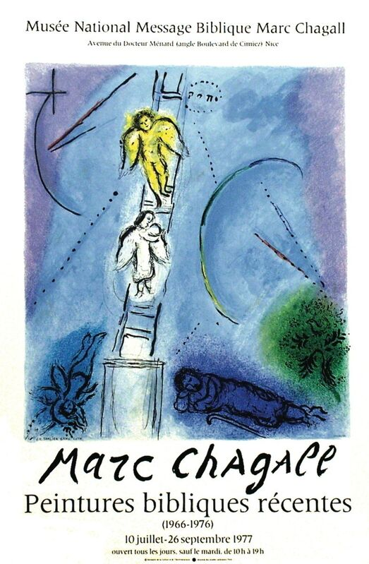 Marc Chagall, 'Jacob's Ladder', 1977, Print, Lithograph, ArtWise