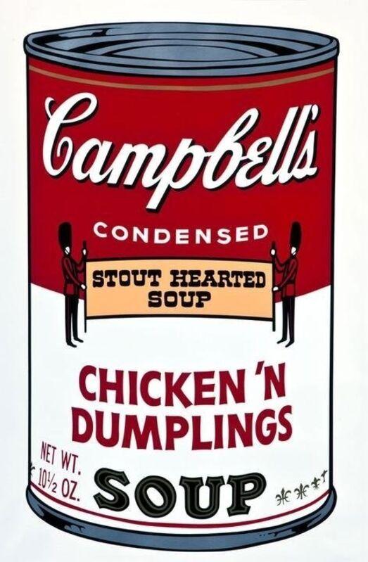 Andy Warhol, 'Chicken 'N Dumplings from Campbell's Soup ll', 1969, Print, Screenprint, Vertu Fine Art