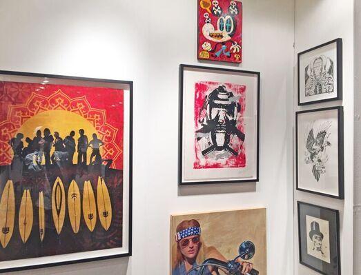 Gregorio Escalante Gallery at Art Gathering, installation view