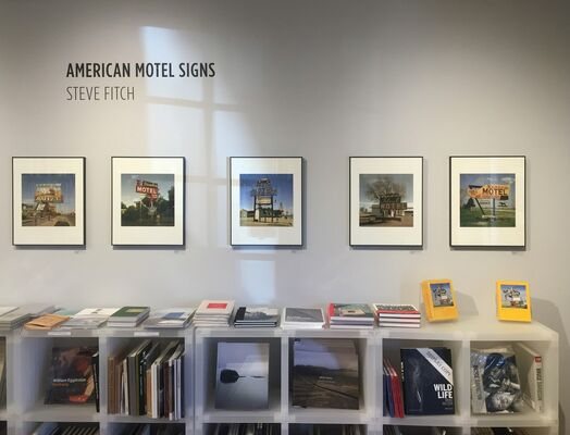 Steve Fitch: American Motel Signs, installation view