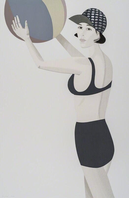 Alex Katz, 'Vivien, from Chance', 2016, Print, 27 - 33 color silkscreen, Gregg Shienbaum Fine Art