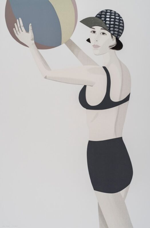 Alex Katz, 'Chance 3 (Vivien)', 2016, Print, 27-33 colour silkscreen on Saunders Waterford, white, cold press, 300 gsm fine art paper, Nikola Rukaj Gallery