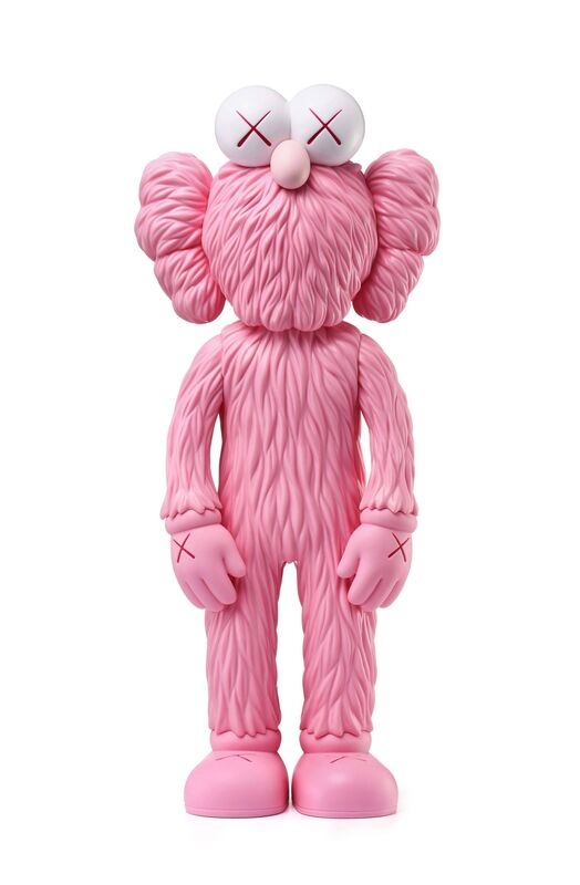 KAWS, 'BFF (Pink)', 2017-18, Sculpture, Painted cast vinyl, Lougher Contemporary Gallery Auction